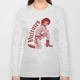 Cowboy Punk Rock Gay Culture Throwback Design Gunslinger Jockstrap Vultures Boy Red Long Sleeve T-shirt