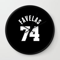 givenchy Wall Clocks featuring FAVELAS 74 GIVENCHY by V.F.Store