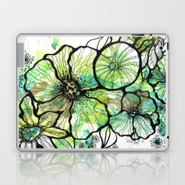 Lime Bouquet Laptop & iPad Skin