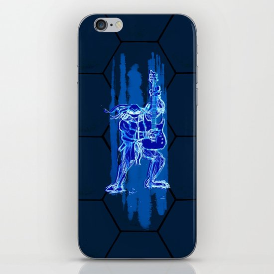 TMNT Rock: Leo iPhone & iPod Skin