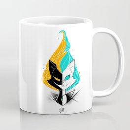 Nightmare/ScribbleNetty (Orange/Turquoise) Coffee Mug