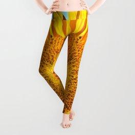 sunflowers Leggings