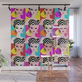 Pop Art Barbie Wall Mural