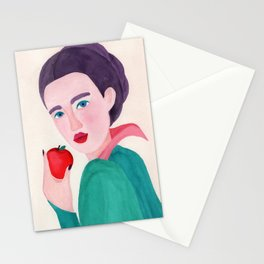 Evil Queen. Toxic apple Stationery Cards