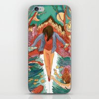 balance iPhone & iPod Skins featuring Balance by Mary Slumber
