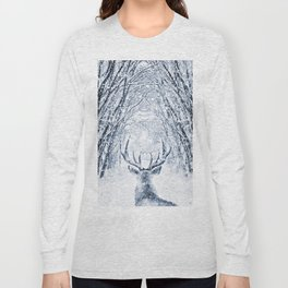 Winter deer Long Sleeve T-shirt