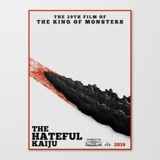 The Hateful Kaiju Canvas Print