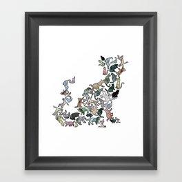 Soul Cat Framed Art Print