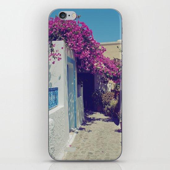 Santorini Walkway VI iPhone & iPod Skin