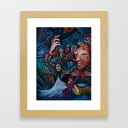 """""""Where Are My True Friends?"""", A Painting By Landon Huber Framed Art Print"""