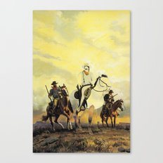 The Unknown Rider in The Warriors Path Canvas Print