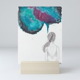 """A Creative Mind Never Sleeps"" - Karla Leigh Wood Mini Art Print"
