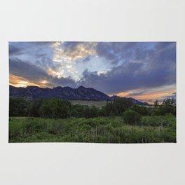 South Boulder Sunset Vista Rug