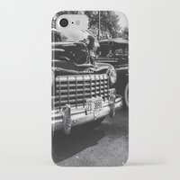 old school iPhone & iPod Cases featuring Old School by Xneon