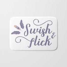 Swish and Flick Bath Mat