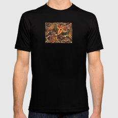 bird LARGE Black Mens Fitted Tee