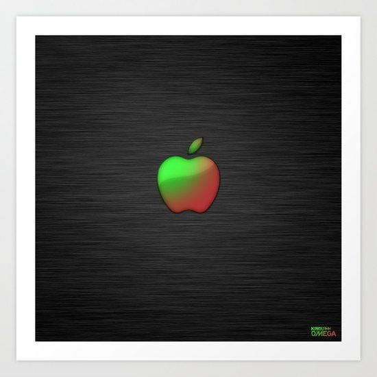 fresher than yours (braeburn) Art Print