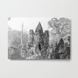 South Gate of Angkor Thom Metal Print