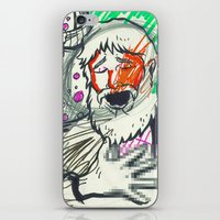 sketch iPhone & iPod Skins featuring Sketch by Alec Goss