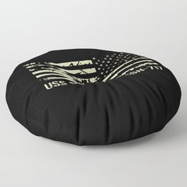 USS Olympia Floor Pillow