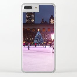 Skating NYC Clear iPhone Case