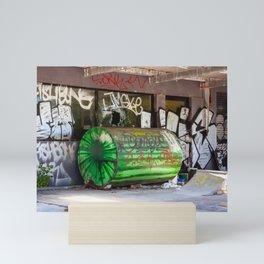 Abandoned Gas Station. Sydney. Australia. Mini Art Print