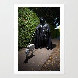 Imperial Walking Art Print