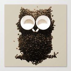 Hoot! Night Owl! Canvas Print
