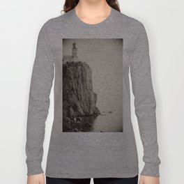 Split Rock Lighthouse in Duluth *Original photography Long Sleeve T-shirt