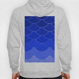 Blue Scales Hoody