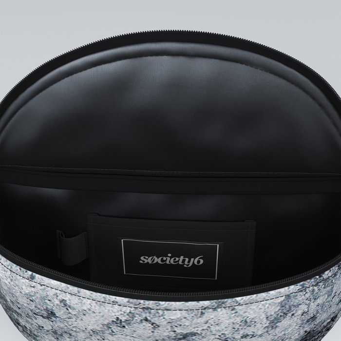 Ice Frost Crystals Fanny Pack