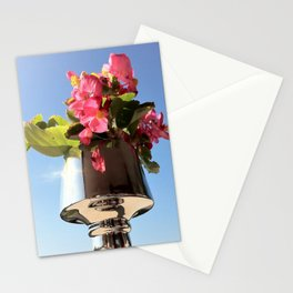 Begonie in vaso. Stationery Cards