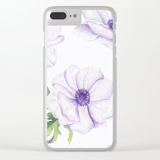 Anemones #society6 #buyart Clear iPhone Case