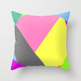 Deformed by environmantal influences Throw Pillow