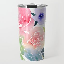 Floral Bouquet Travel Mug