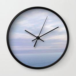 Where Sky and Water Meet Wall Clock