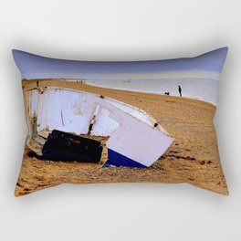 Beached Boat Rectangular Pillow