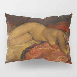 Reclining Nude by George Hendrik Breitner, 1887 Pillow Sham