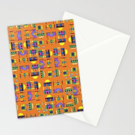 Masjids in Technicolor Stationery Cards