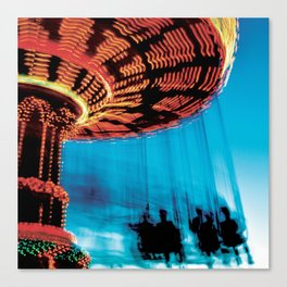 Technicolor Swings Canvas Print
