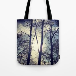 Your light will shine in the darkness Tote Bag
