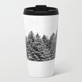 trees at the park Metal Travel Mug