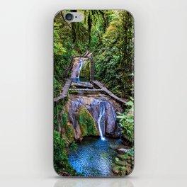 Valley of 33 waterfalls iPhone Skin