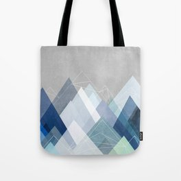 Graphic 107 X Blue Tote Bag