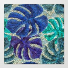 Pretty Leaves 6A Canvas Print