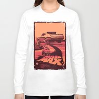 my mad fat diary Long Sleeve T-shirts featuring Mad Max by Mike Wrobel