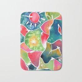 Magical World of Watercolor Bath Mat