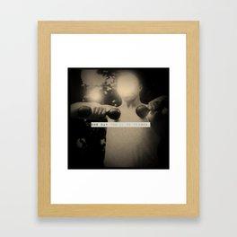 Yuri, my friend. Framed Art Print