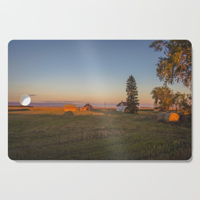 Curious Farmstead, North Dakota 1 Cutting Board