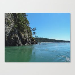 Canoe Pass Canvas Print
